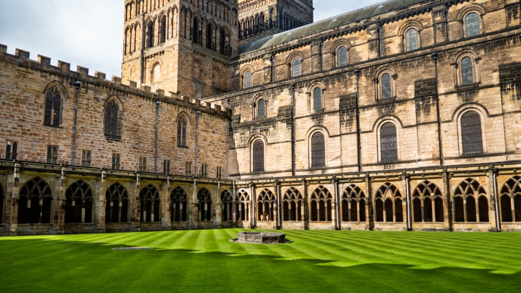 The Cloister at Durham Cathedral, a Harry Potter Filming Location in North East England