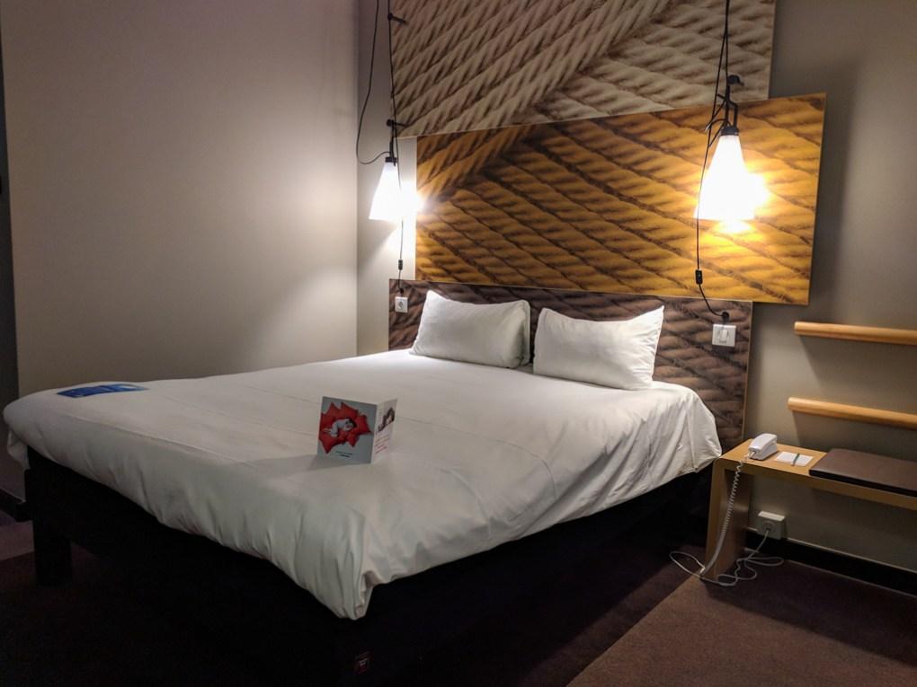 Room at the Ibis Wrocław Centrum in Wrocław, Poland, how to spend 48 Hours in Wrocław, Poland