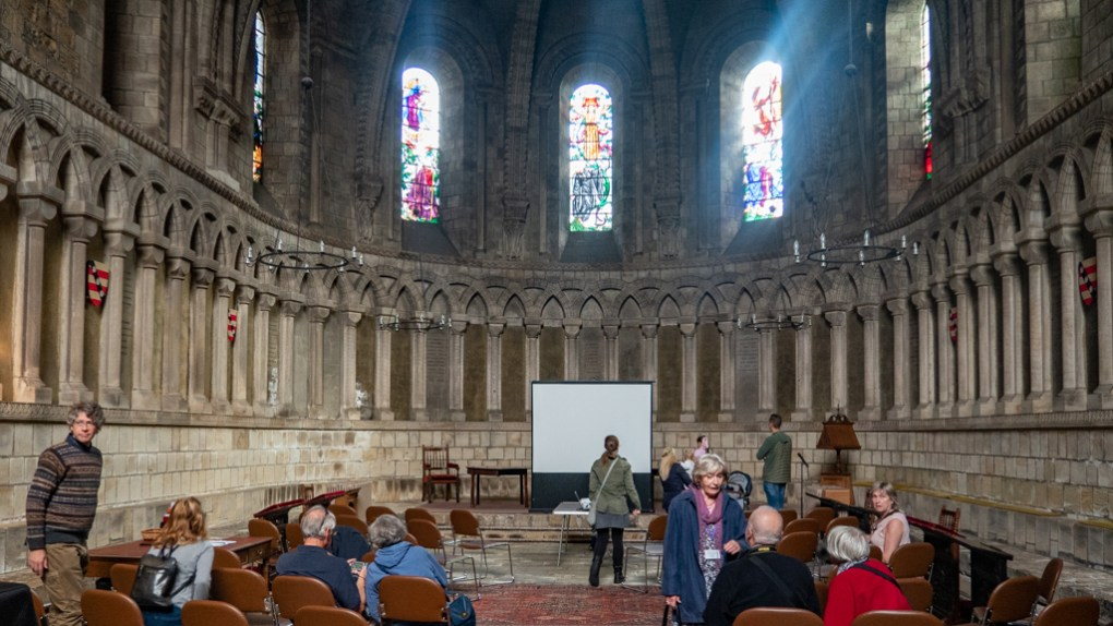 The Chapter House at Durham Cathedral, a Harry Potter Filming Location