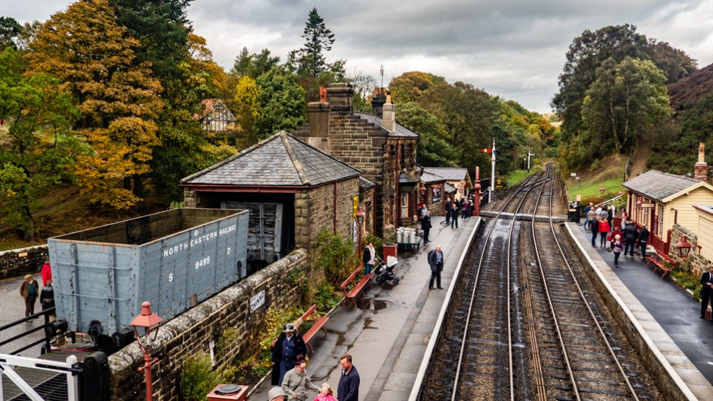 Goathland Station, a Harry Potter Filming Location in North Yorkshire