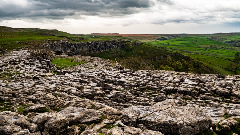 Limestone Pavement at Malham Cove, a Harry Potter Filming Location in the Yorkshire Dales