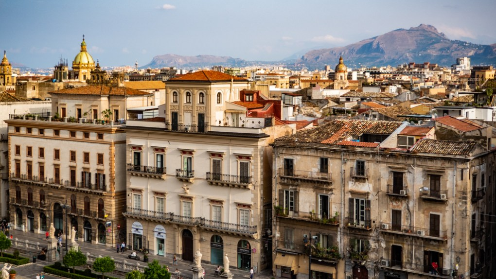 View from the roof of Palermo Cathedral in Palermo, Sicily | 48 Hours in Palermo, Sicily Travel Guide