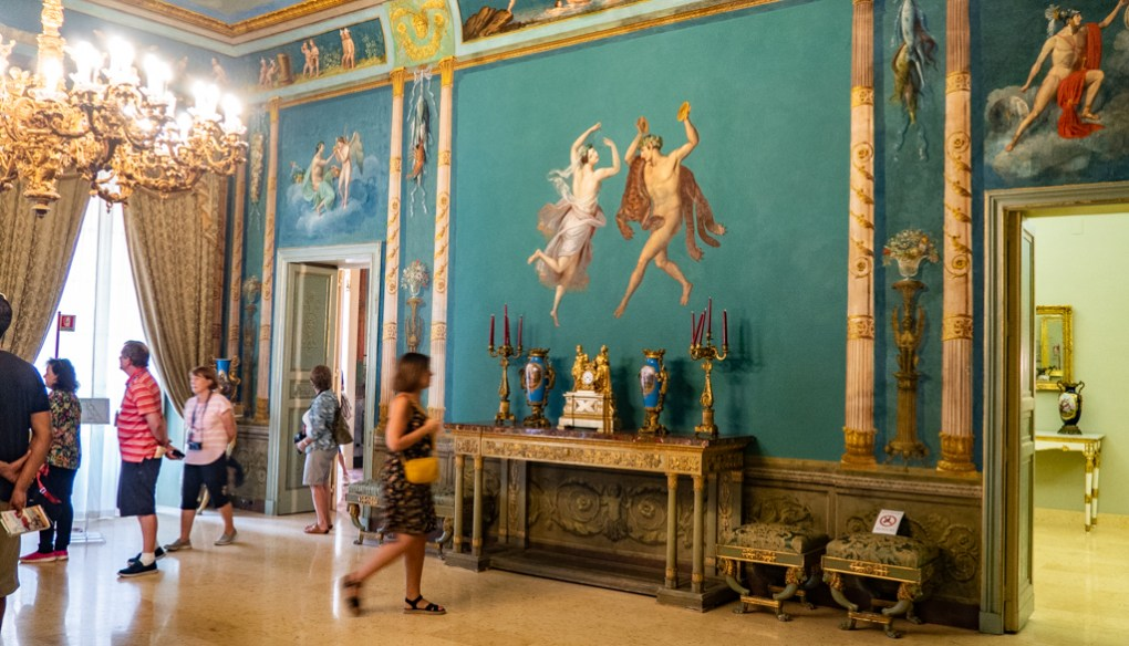 Inside Norman Palace in Palermo, Sicily | 48 Hours in Palermo, Sicily Travel Guide