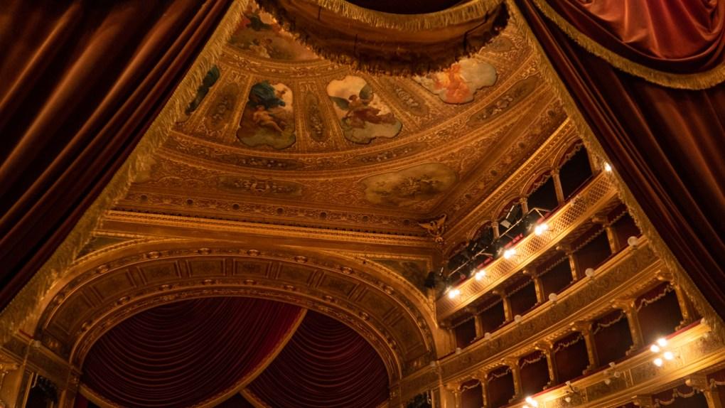 Teatro Massimo in Palermo, Sicily
