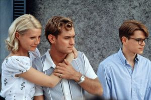 Marge, Dickie and Tom in The Talented Mr Ripley