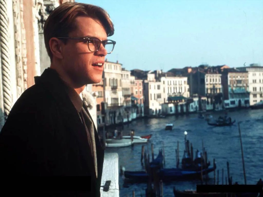 Tom Ripley in Venice, one of The Talented Me Ripley filming locations