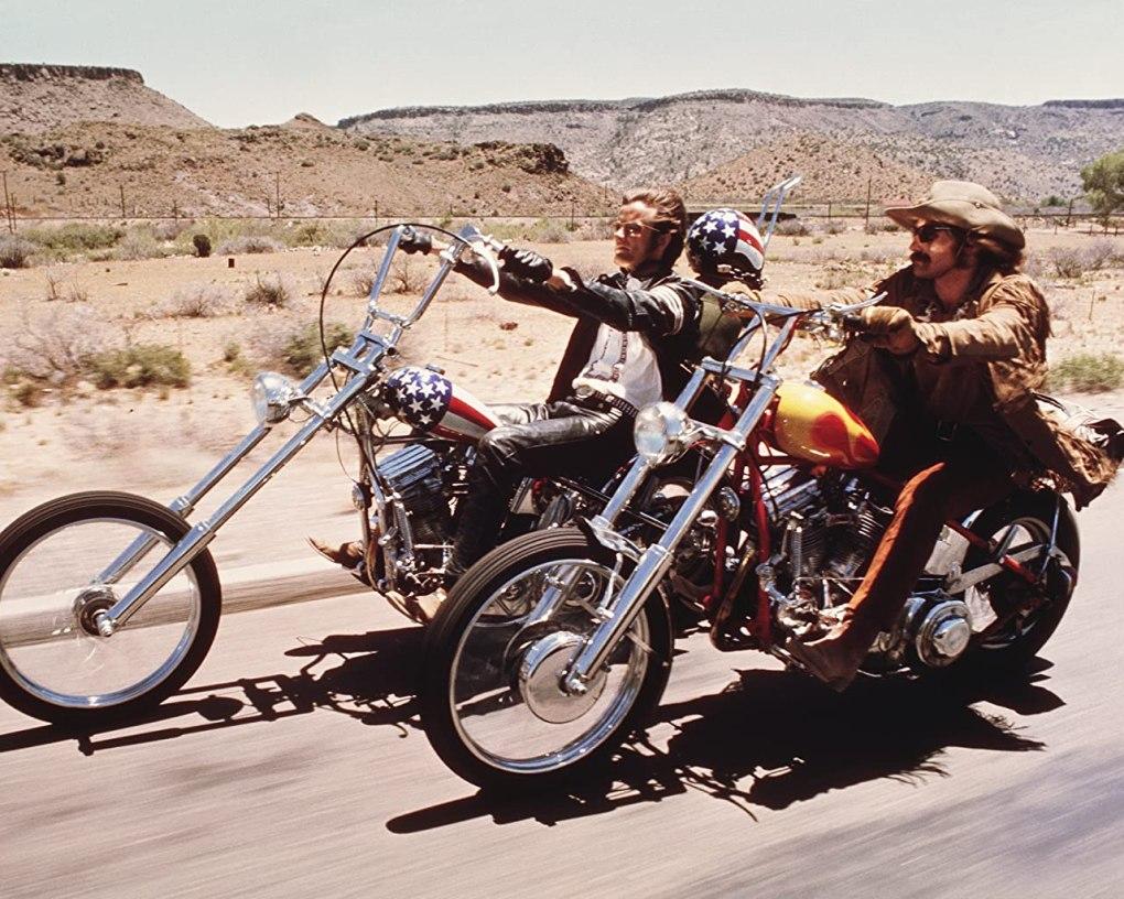 Top Wanderlust Film Easy Rider (1969)