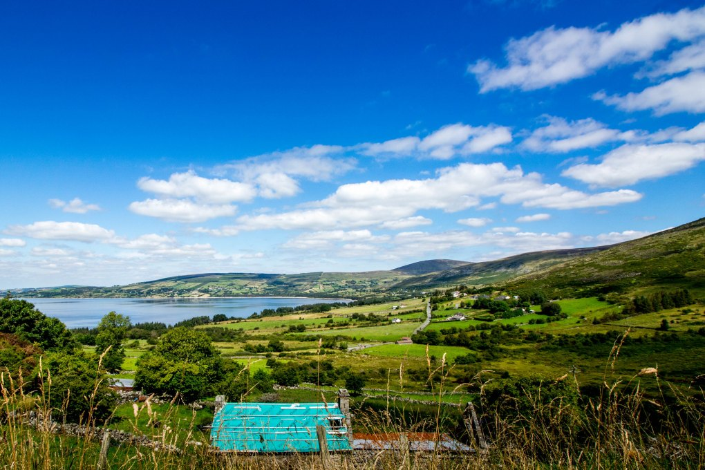 Blessington Lakes in County Wicklow, Ireland