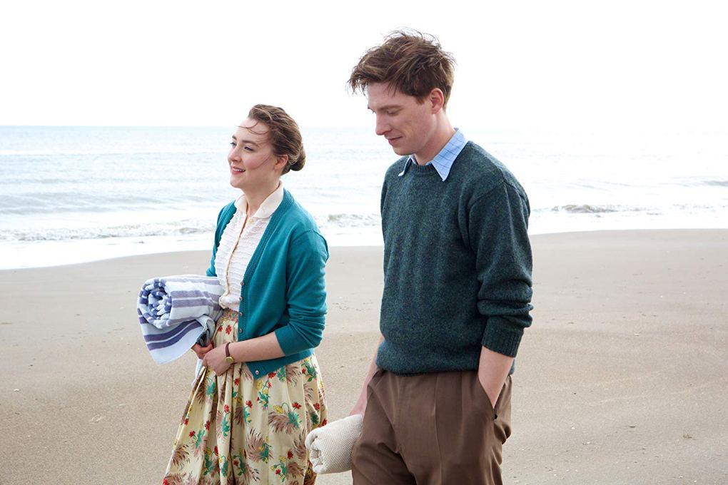 Film still from Brooklyn, a film set in Ireland