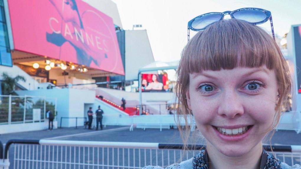 Almost Ginger blog owner at the Cannes Film Festival 2017