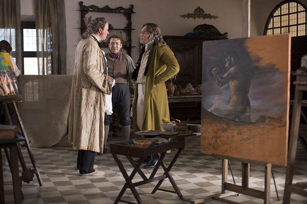 Film still from Goya's Ghosts, a film set in Spain
