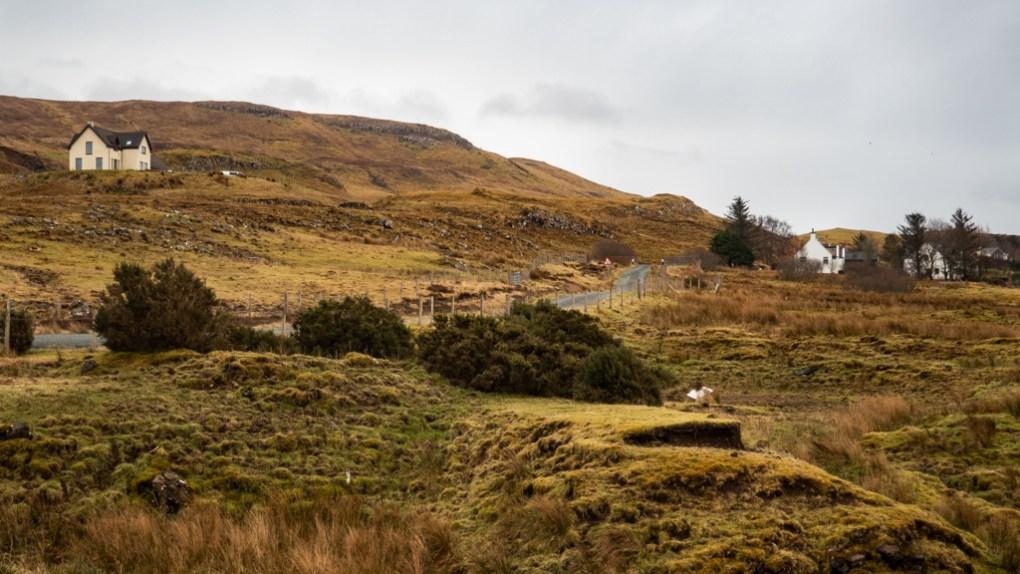 Scorrybreac Circular Path in Portree on the Isle of Skye, Scotland