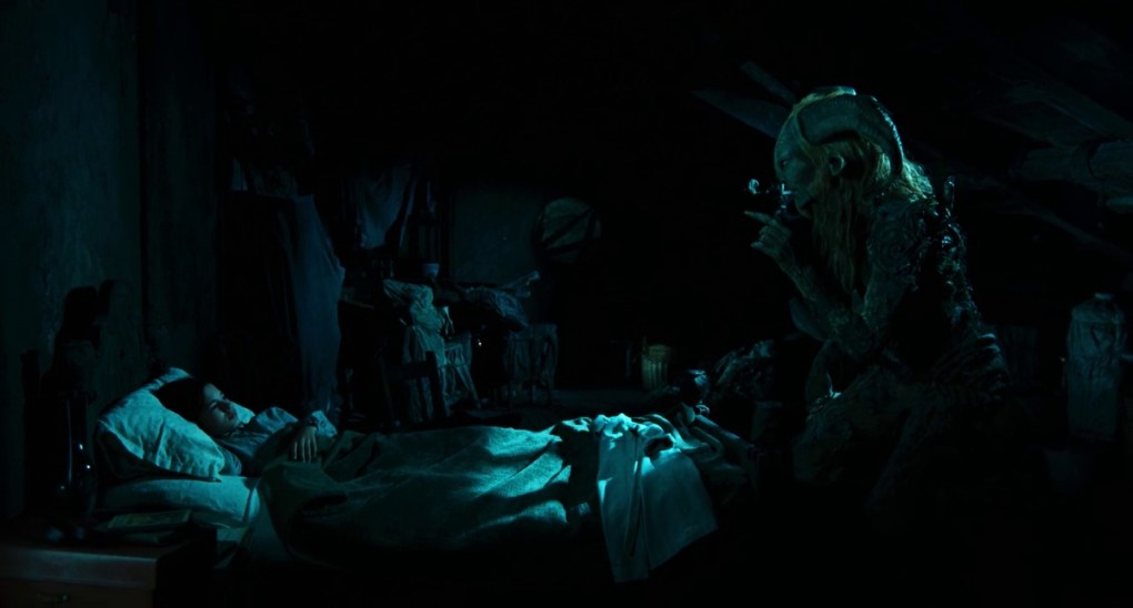 Film still from Pan's Labyrinth, a film set in Spain
