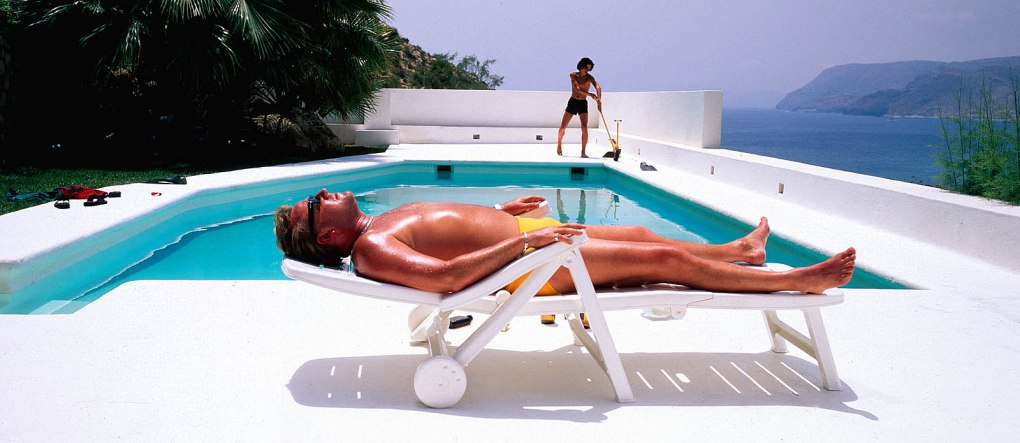 Film still from Sexy Beast, a film set in Spain