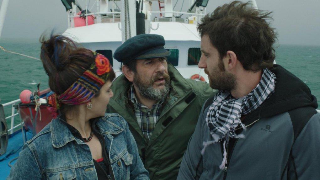 Film still from Spanish Affair, a film set in Spain