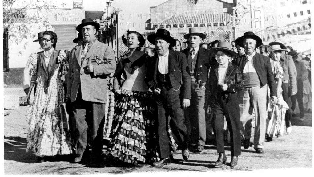 Film still from Welcome, Mr Marshall!, a film set in Spain