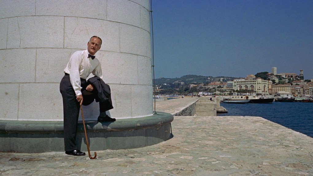 To Catch a Thief (1955) film still at the Light Tower location in Cannes, France