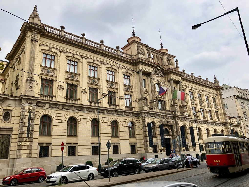 Carlo IV Hotel in Prague, Czechia Spider-Man: Far From Home Location