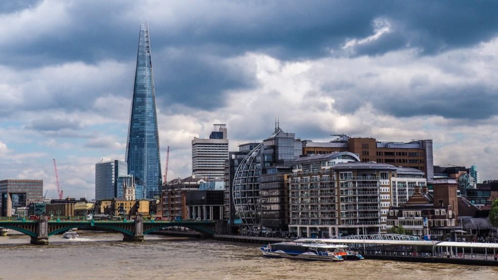 The Shard in London, UK