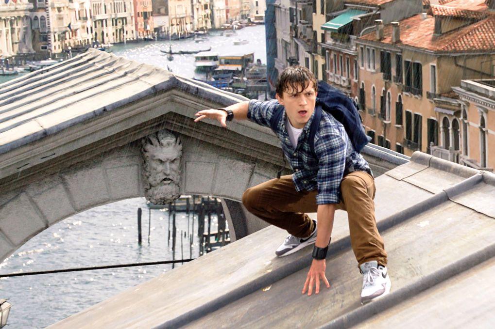 Spider-Man: Far From Home film still in Venice, Italy