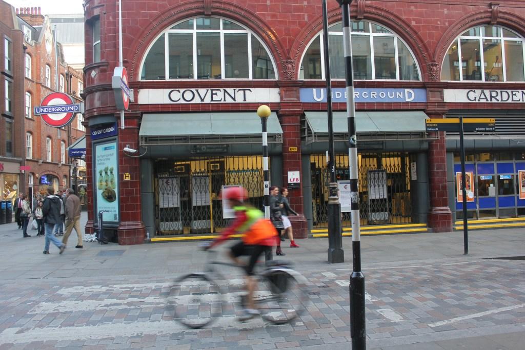 Covent Garden Underground Station, London