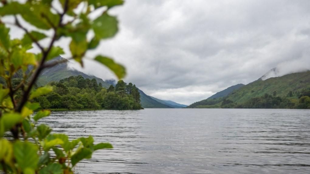 Loch Shiel in Glenfinnan, a Harry Potter Filming Location in Scotland
