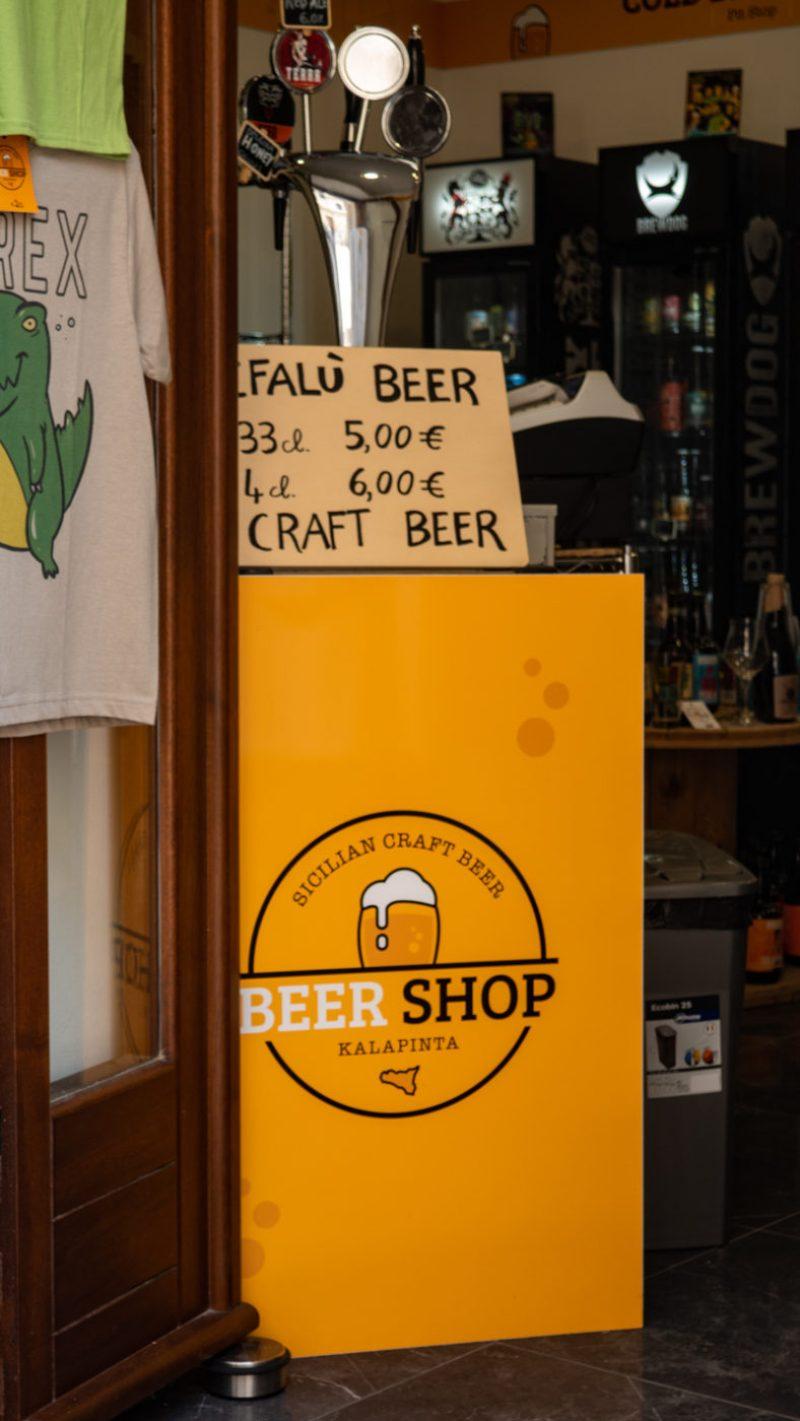 Kalapinta Craft Beer Hall and Bar in Cefalù, Sicily