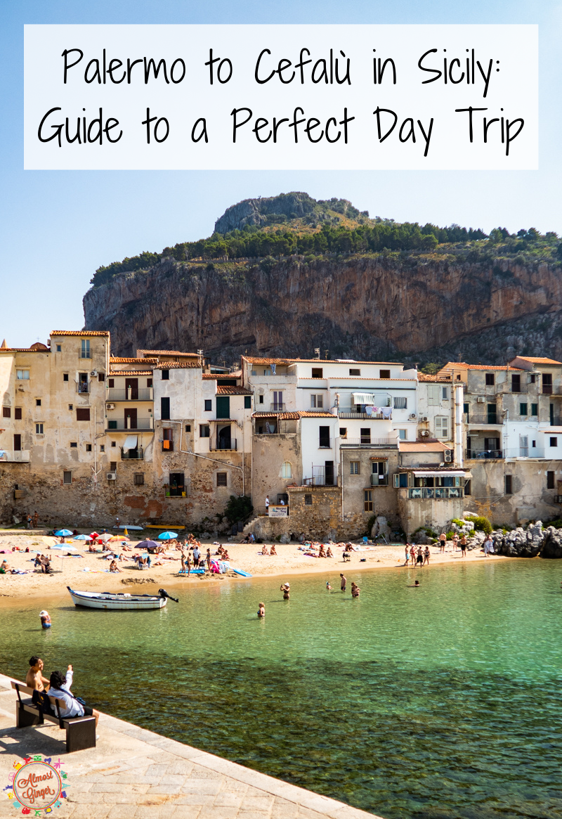 Palermo to Cefalù, Sicily: Guide to a Fab Coastal Day Trip | almostginger.com