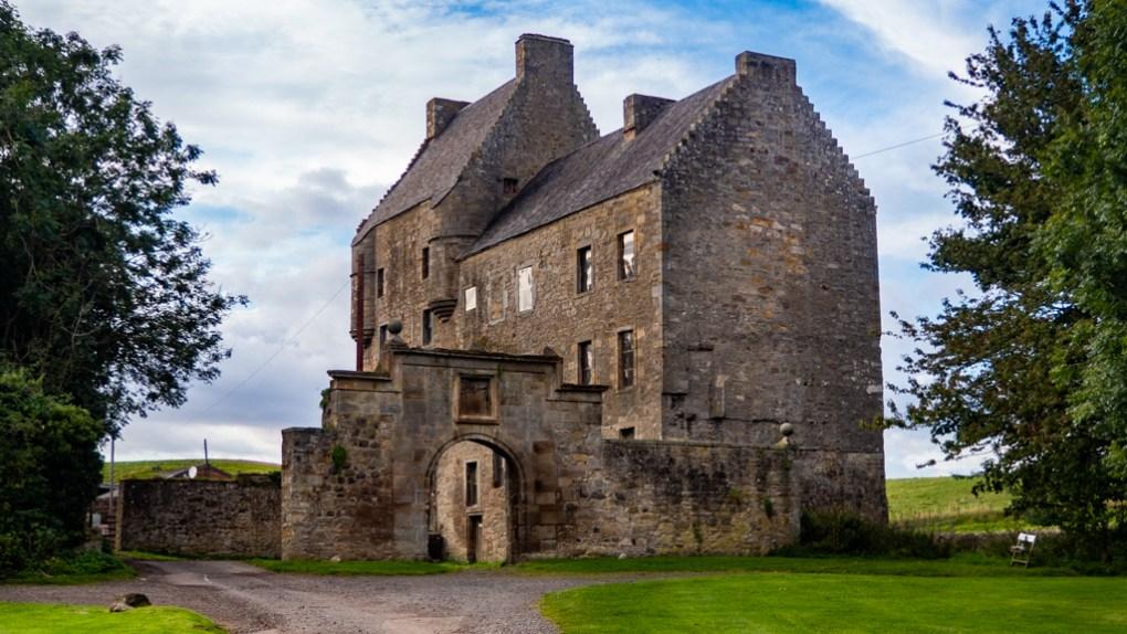 Midhop Castle AKA Lallybroch as seen in Outlander, Scotland