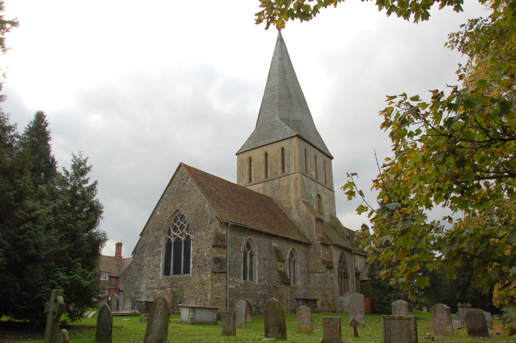 St James Church in Shere, Surrey The Holiday Filming Location in England