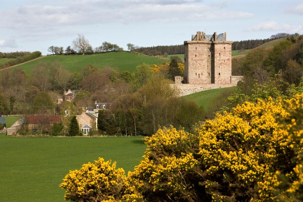 Borthwick Castle in North Middleton, Scotland