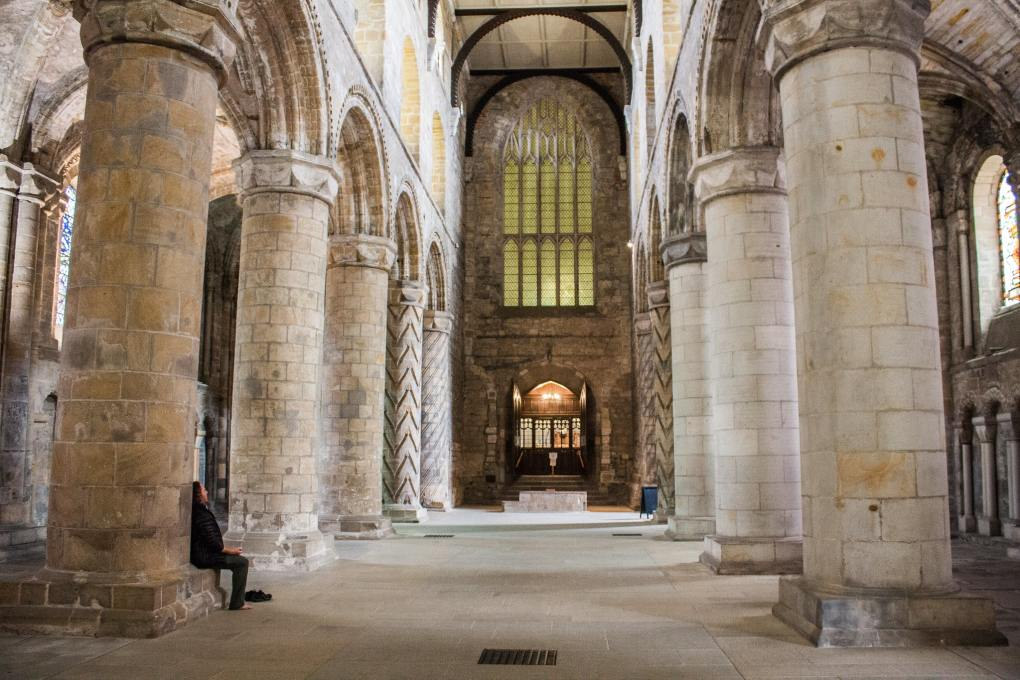 Dunfermline Abbey in Dunfermline, Scotland Outlaw King Filming Location