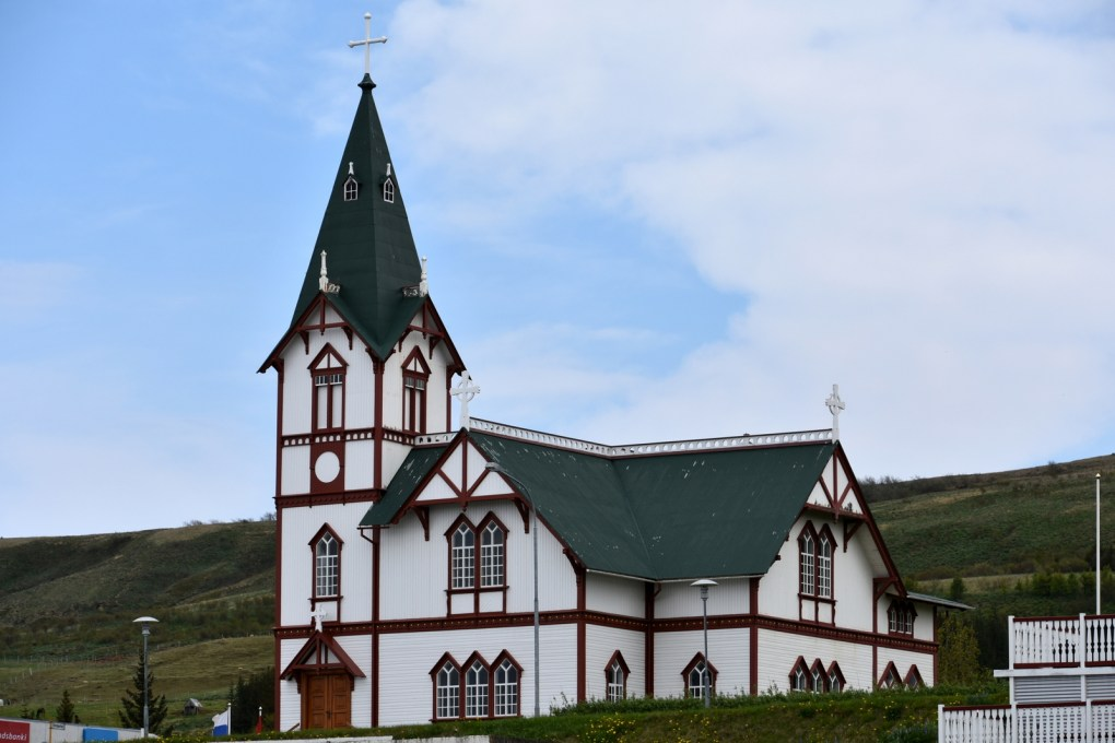 Húsavík Wooden Church, Iceland Eurovision Song Contest: The Story of Fire Saga Filming Location
