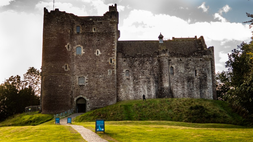 Doune Castle in Scotland Outlaw King Filming Location