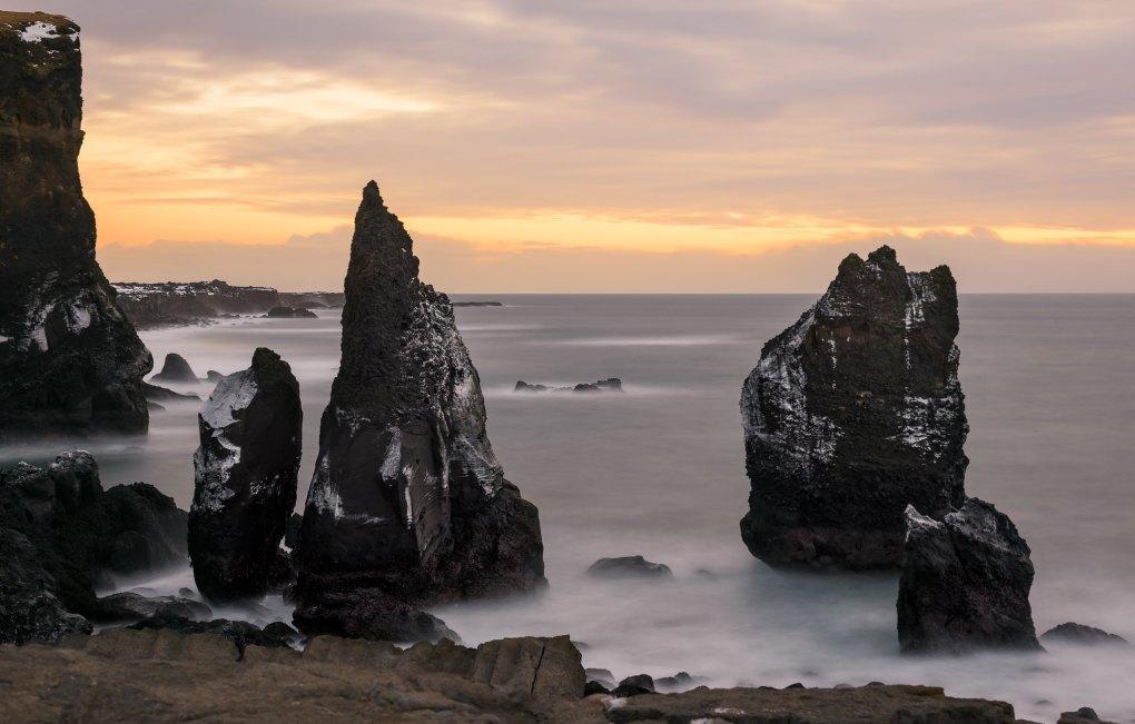 Valahnúkamöl Beach in Iceland Eurovision Song Contest: The Story of Fire Saga Filming Location