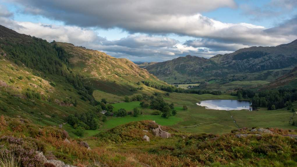 Blea Tarn, Little Langdale in the Lake District, England Snow White and the Huntsman Filming Location