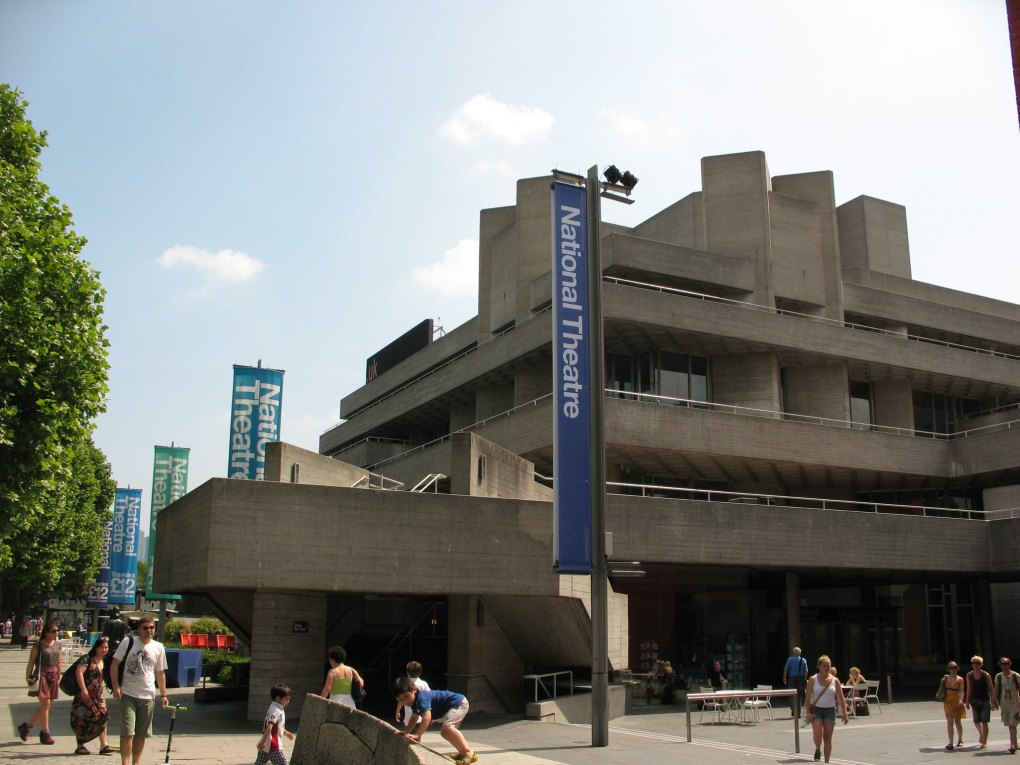 National Theatre in London, England About Time Filming Location