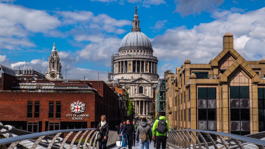 St Paul's Cathedral in London, England Paddington Filming Location