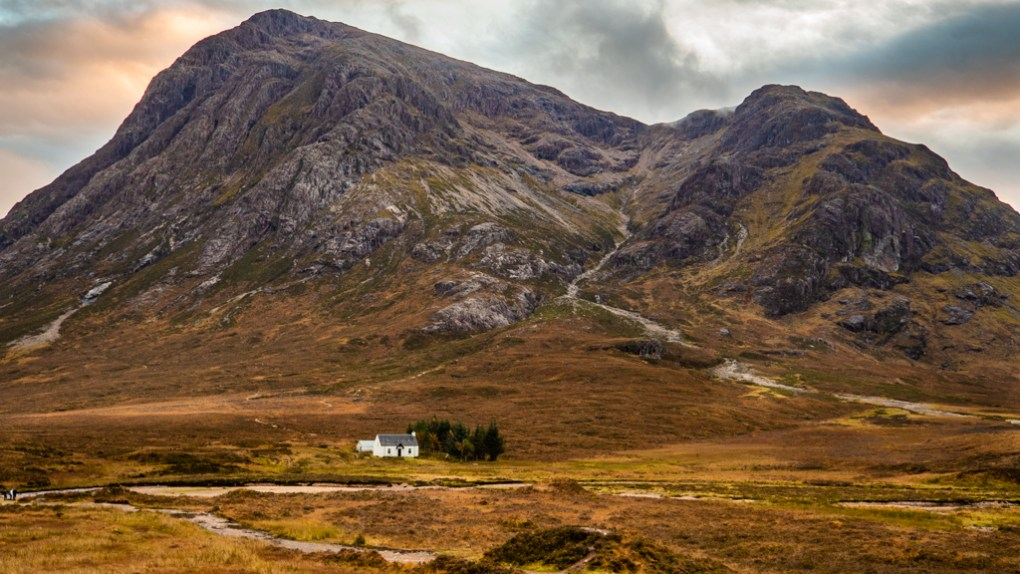 Glen Coe in the Scottish Highlands Mary Queen of Scots Filming Location
