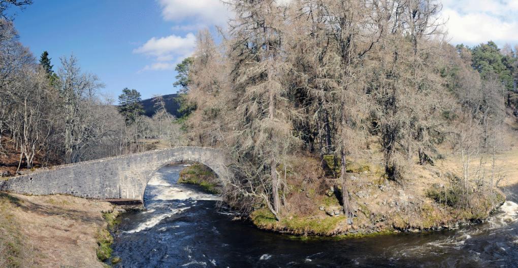 Poldullie Bridge in Strathdon, Aberdeenshire in Scotland Mary Queen of Scots Filming Location