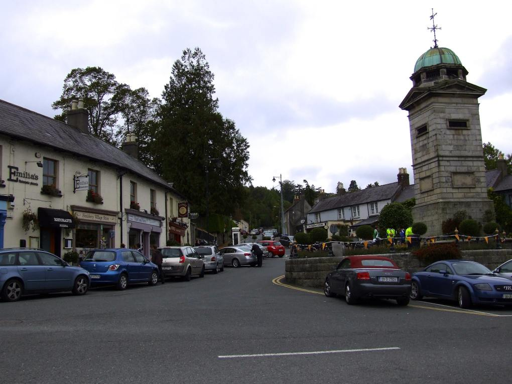 Enniskerry Village Square in County Wicklow, Ireland Leap Year Filming Location