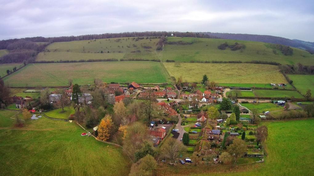 Turville in Buckinghamshire, England