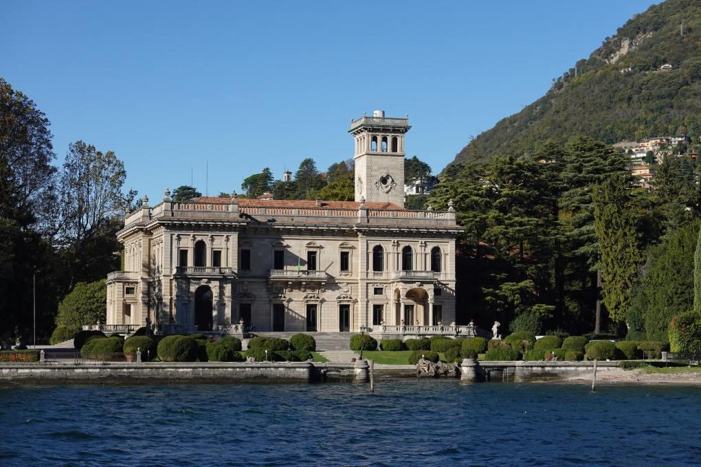 Villa Erba in Lake Como, Italy Ocean's Twelve Filming Location