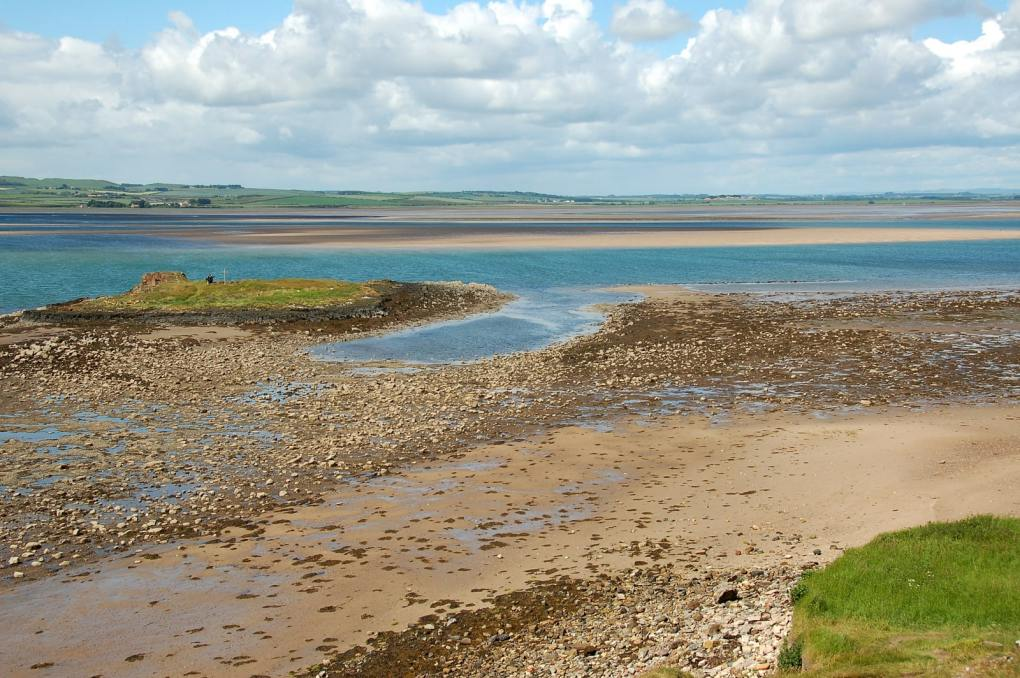 Holy Island of Lindisfarne National Park in Northumberland, England The Railway Man Filming Location