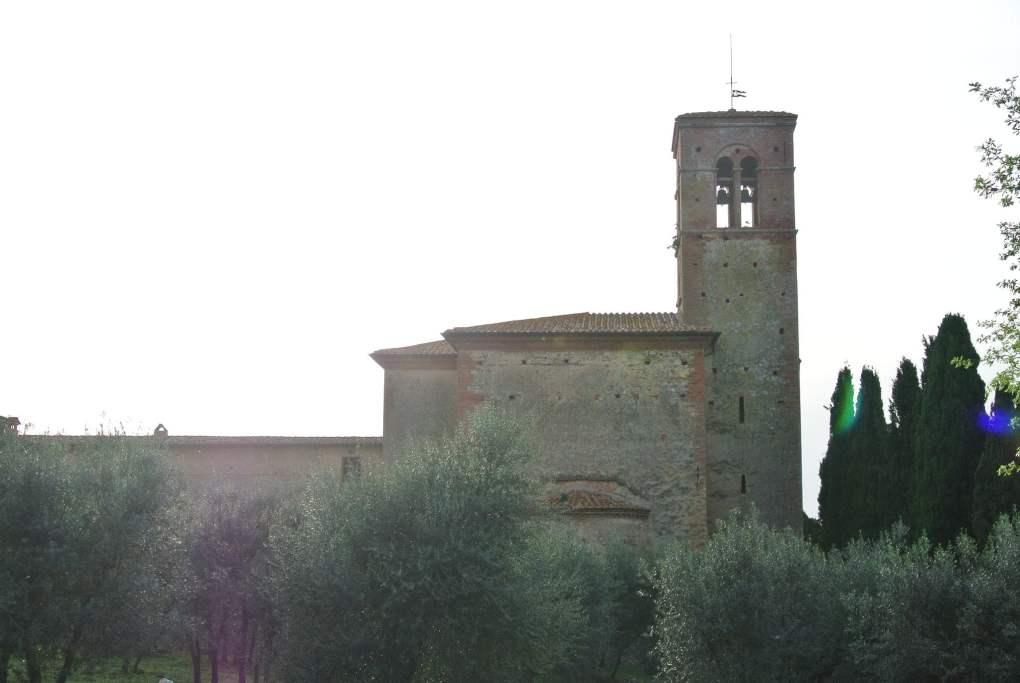 Monastero di Sant'Anna in Camprena, Italy The English Patient Film Location