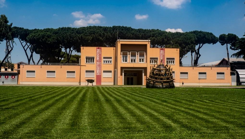 Cinecittà Studios and Film Museum in Rome, Italy