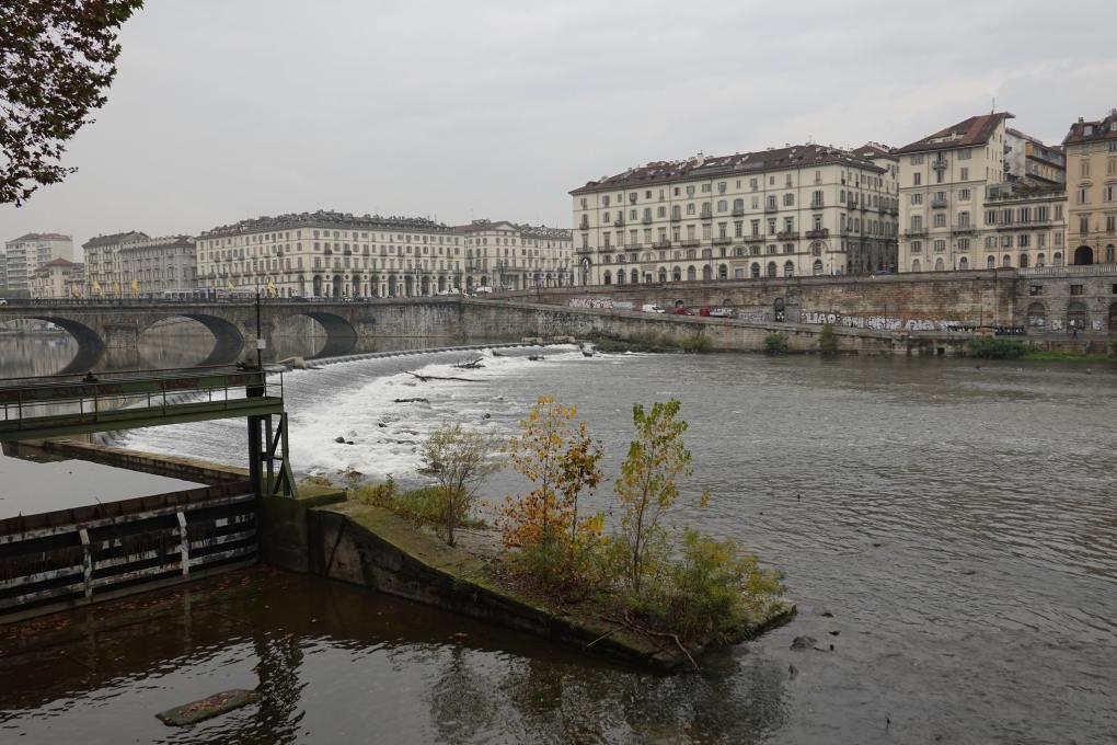 River Po in Turin, Italy