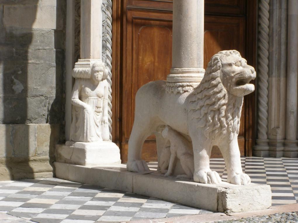 Basilica di Santa Maria Maggiore in Bergamo, Italy Call Me By Your Name Location