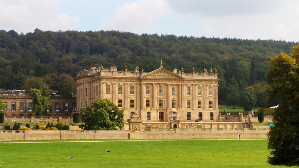 Chatsworth House in Derbyshire, England The Duchess Filming Location