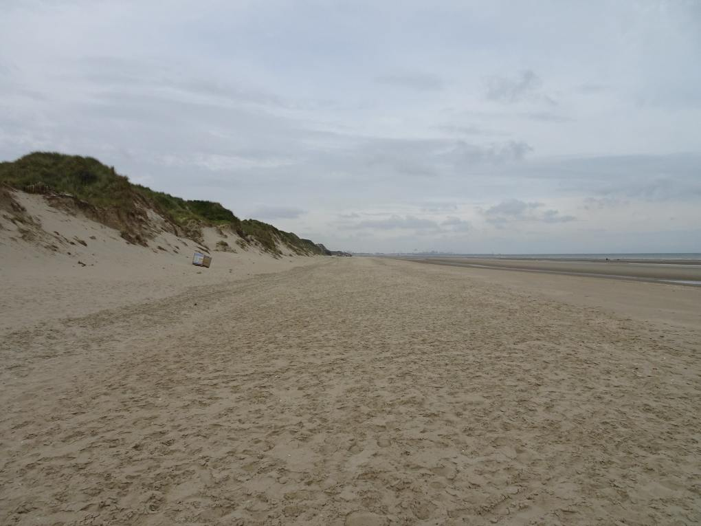 Dune Dewulf Nature Reserve in Dunkirk, France